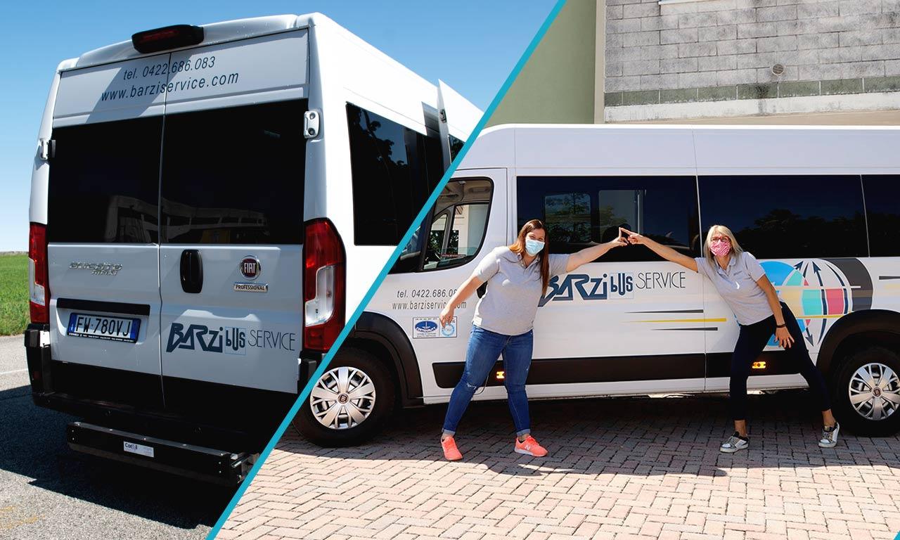 Servizio trasporto disabili - Barzi service